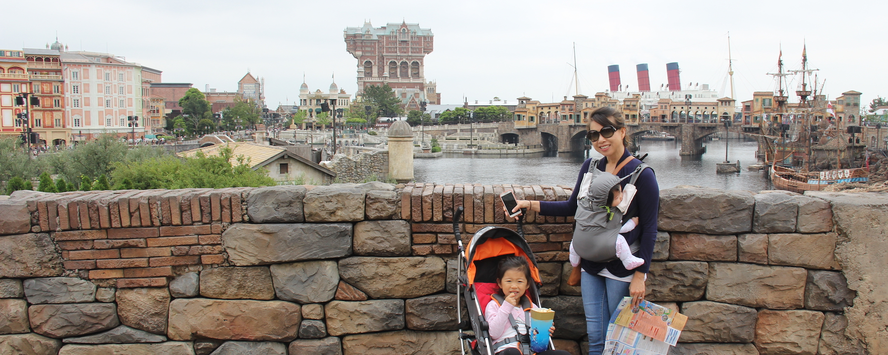 Header image at Tokyo Disneyland